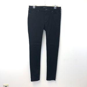 UNIQLO Jeans Skinny Tapered Mid Rise - Black